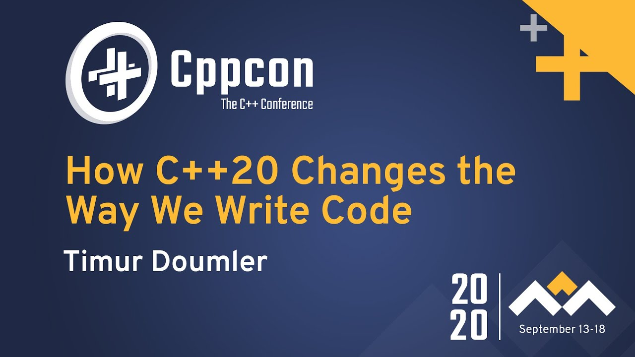 How C++20 Changes the Way We Write Code