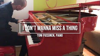 I don´t wanna miss a thing - Aerosmith cover