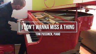I don´t wanna miss a thing - Aerosmith cover