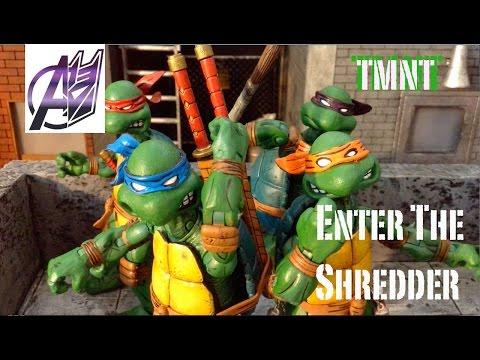 TMNT [Stop Motion Film] TMNT vs The Shredder