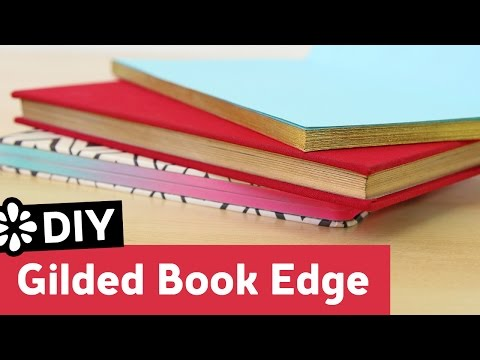 DIY Gilded Book Edge | Sea Lemon