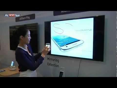 حرب الهواتف الذكية بين سامسونغ وأبل