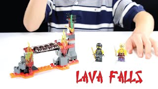 Lego Ninjago: Lava Falls 70753 - Unbox, Build And Review