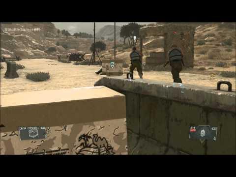 MGS V - The Phantom Pain (Creative Stealth Kill) Part.2 |