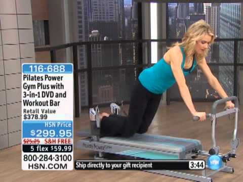 Pilates Power Gym Plus With 3-in-1 DVD And Workout Bar