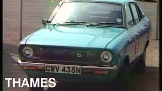 The rise of foreign cars | Common Market | Vintage cars | Drive In | 1974