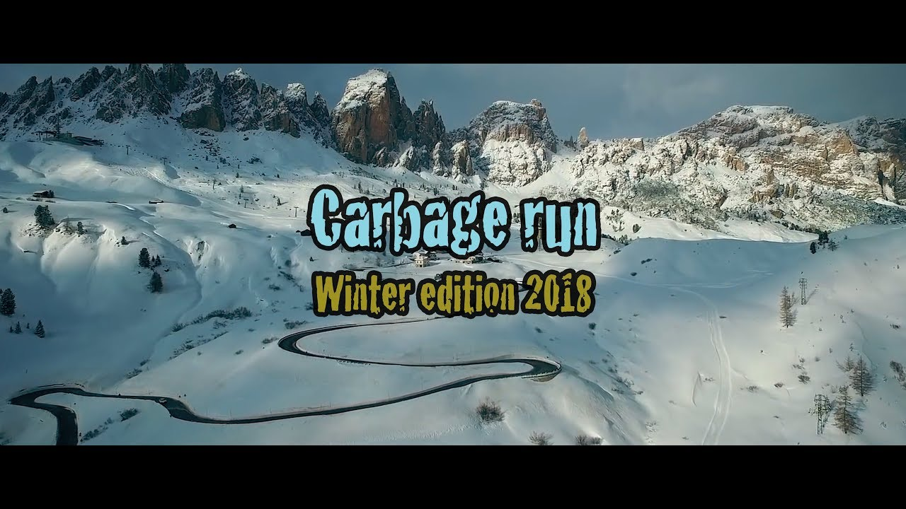Carbage Run Scandinavia Winter Edition 2018 Official
