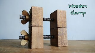 Video DIY Wooden Clamp Simple To Make || How To Make Clamp download MP3, 3GP, MP4, WEBM, AVI, FLV September 2018