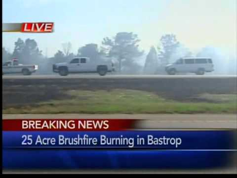 Bastrop Wildfire 50 Percent Contained