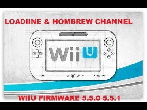 Tutorial Carga de Loadiine y Homebrew Channel Wiiu 5 5 1