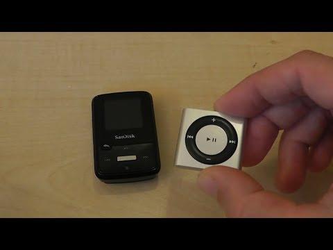 Vergleich Sandisk Clip vs  Ipod Shuffle 2018