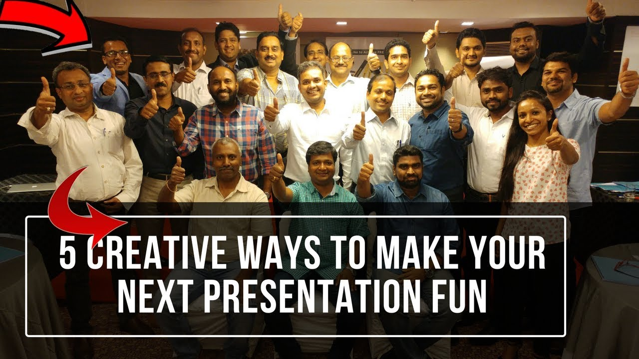 5 creative ways to make your next presentation fun the confident