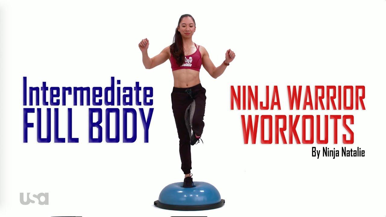 Ninja Warrior Workouts   INT FULL w music
