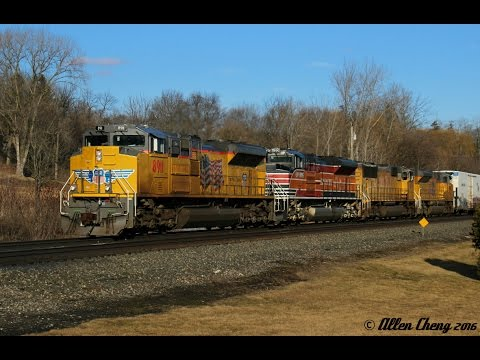 A Great Day Trip on the CSX Mohawk Subdivision (2/27/2016)