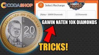 BENTE MO GAWIN NATEN 10K DIAMONDS SA MOBILE LEGENDS 2.0