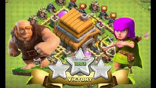 BEST ARMY for town hall 5 .200 trophies.!!