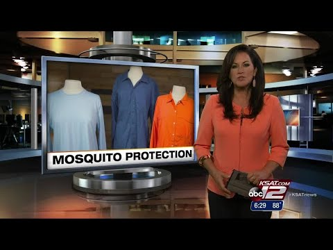 VIDEO: Mosquito Repellent Clothing Put To Test