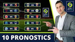 Pronostic Foot : Mes 10 PRONOSTICS ( Ligue 1 )