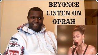Beyonce-Listen Live On Oprah Reaction