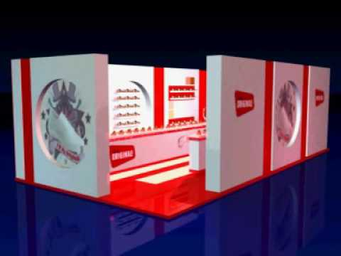 Exhibition Stand Shoes : Clarks shoes exhibition stand youtube