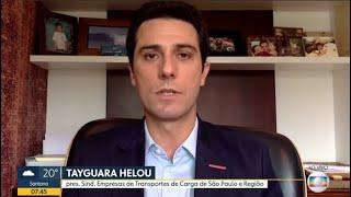 Entrevista Tayguara Helou - TV Globo