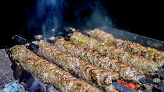 Люля-Кебаб как приготовить на мангале из говядины и курицы