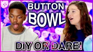 DIY BOWL MADE OF BUTTONS?! Di Dare