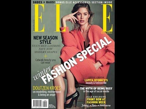 revista elle south africa mayo 2014 winter fashion special shoes mas bags bonus elle