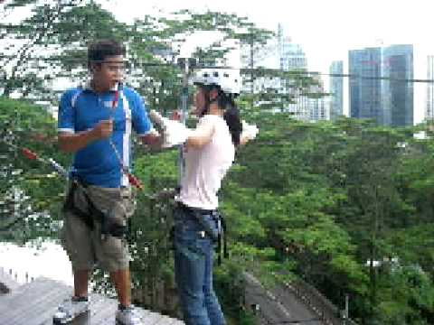 FLYING-FOX in KL TOWER--Kuala Lumpur