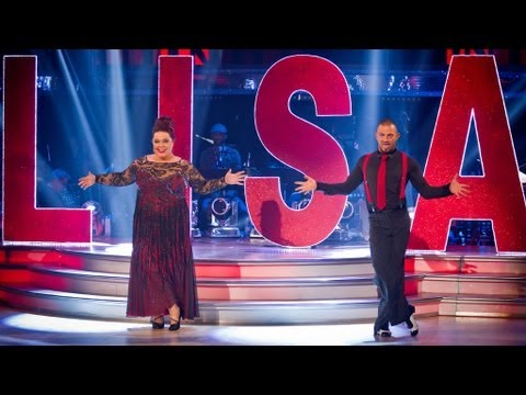 Lisa Riley American Smooths to 'All That Jazz' - Strictly Come Dancing 2012 - Semi Final - BBC One