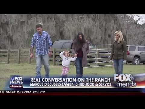 'Lone Survivor' Marcus Luttrell Shows Ainsley Earhardt Around His Ranch
