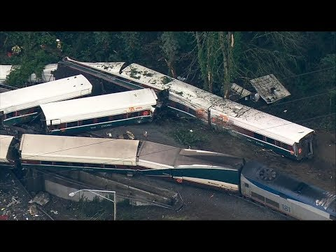 Deadly train accident on new route between Seattle and Portland
