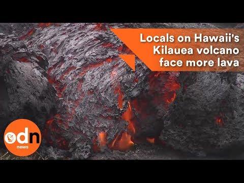 Residents on Hawaii's Kilauea volcano face more lava