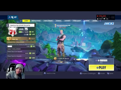 Top PS4 Solo Player! ~ 2100+ SOLO WINS! ~ Twitter/Insta @AlmightySneaky