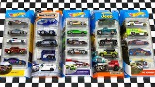 Opening Hot Wheels And Matchbox 5-Car Packs!
