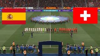 Switzerland vs Spain Quarter Finals UEFA EURO 2020 FIFA 21