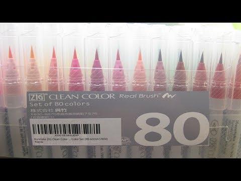 Kuretake Zig Clean Color Real Brush Pen Review