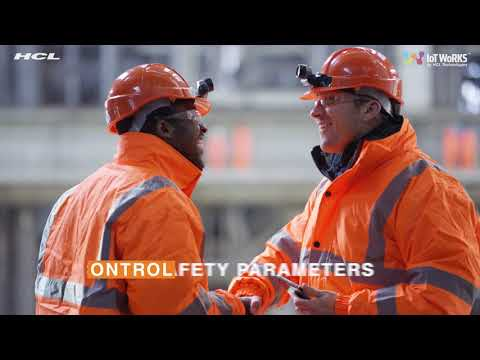 Worker Safety Solution by IoT WoRKS | HCL Technologies