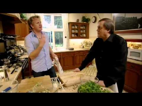 Fish Cakes With Anchovy Dressing - Gordon Ramsay