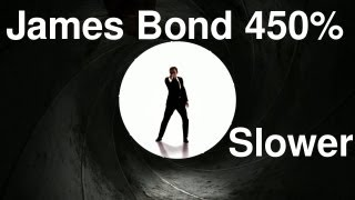 Download James Bond Theme 450% Slower MP3 song and Music Video
