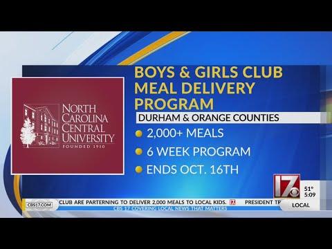 NCCU, Durham Bulls, Blue Cross NC Partner To Provide Meals To Kids At Boys & Girls Clubs