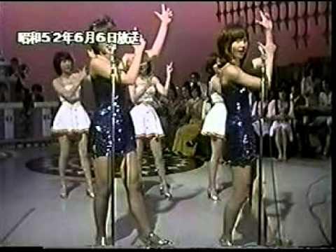 キャンディーズ vs ピンクレディー 1977年