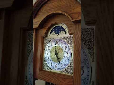 Triple Chime King Arthur Grandfather Clock Chiming Whittington Youtube