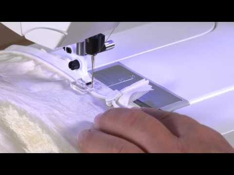 Clear Invisible Zipper Foot By HUSQVARNA VIKING YouTube Stunning Husqvarna Sewing Machine Zipper Foot