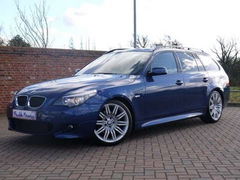 2009 bmw 520d m sport touring 177 auto for sale in hampshire youtube. Black Bedroom Furniture Sets. Home Design Ideas