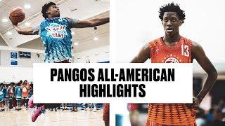 Josh Christopher, , Evan Mobley, and Terrence Clarke SHOW OUT at Pangos All-American Camp