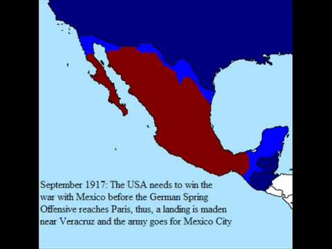 Alternate History: Second Mexican-American war