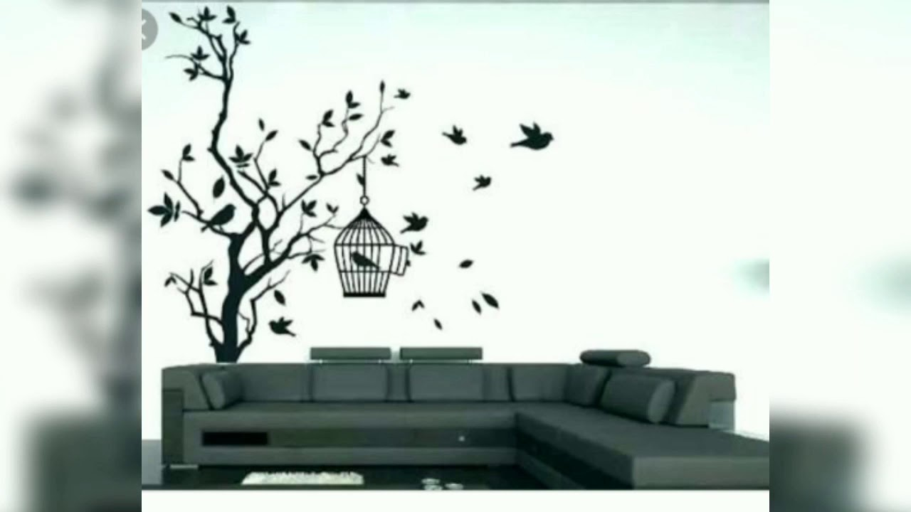 Tree Wall Painting Ideas Best Wall Decor Ideas Tree Designs Megha S Art Youtube