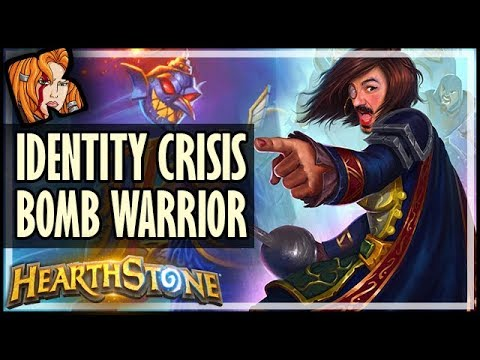 Identity Crisis Bomb Warrior?! - Rise of Shadows Hearthstone