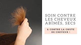 Bain d'huiles pour soigner les cheveux abîmés, secs et traiter la chute de cheveux